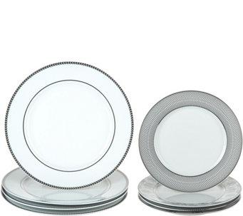 Dennis Basso 8-Piece Coordinating Ceramic Plate Set - H213216  sc 1 st  QVC.com & Dinner Plates u2014 Dinnerware u2014 Tabletop u0026 Bar u2014 Kitchen u0026 Food u2014 QVC.com