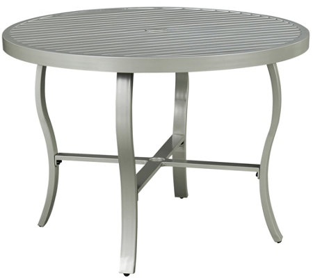 "South Beach 42.5"" Round Outdoor Dining Table"