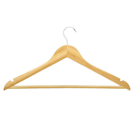 Honey-Can-Do 8-Pack Bamboo Suit Hanger