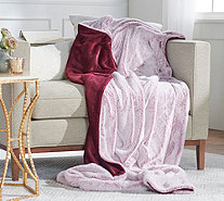 "Berkshire 50"" x 70"" Luxe Collection Faux Fur Throw with Gift Box - H216917"