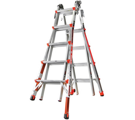 Little Giant Revolution 22' Ladder with RatchetLevelers