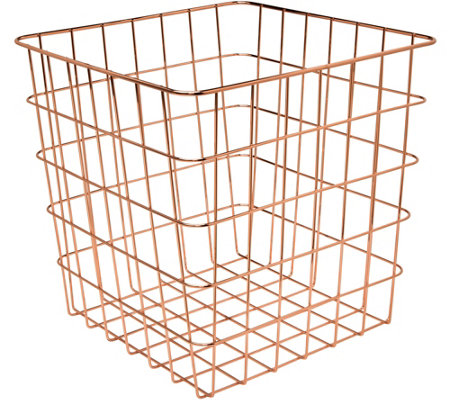 Honey-Can-Do Copper Wire Basket