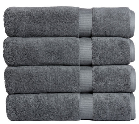 Affinity Linens Oversized 800 Gsm Set Of 4 Bathtowels