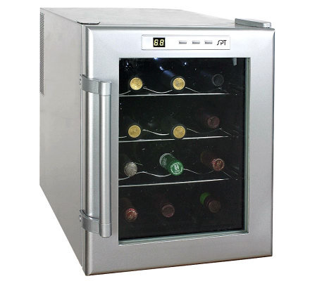 SPT 12-Bottle Thermo-Electric Wine Cooler