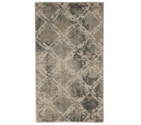 "Inspire Me! Home Decor Shadow 26"" x 45"" Rug"