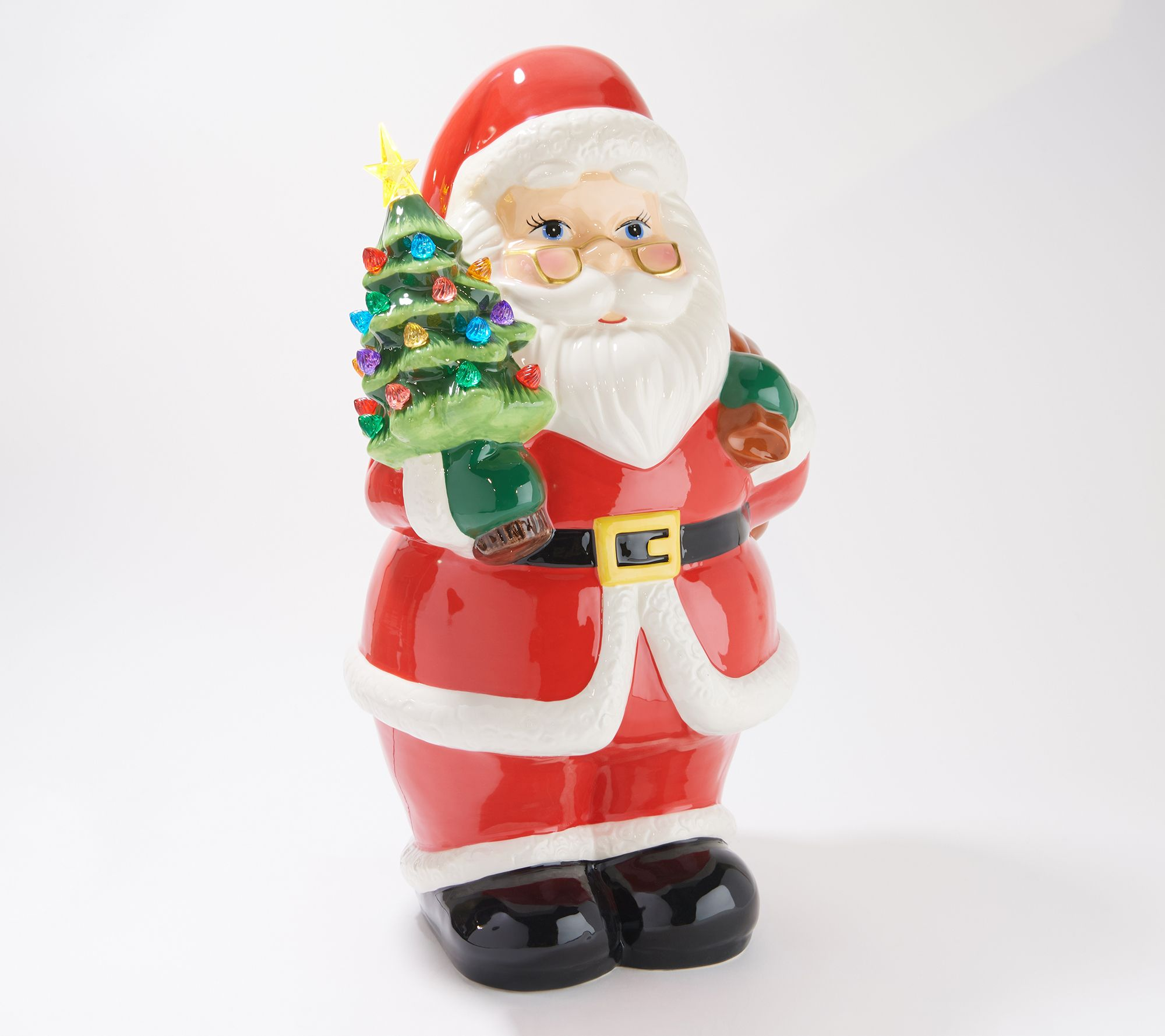 Mr Christmas Oversized Ceramic Nostalgic Holiday Figure Qvc Com