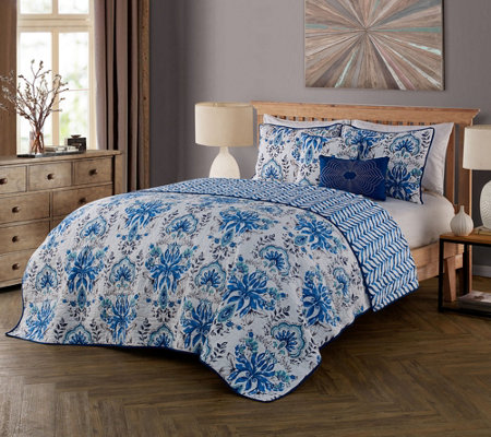 Avondale Manor Tabitha 5-Piece Queen Quilt Set