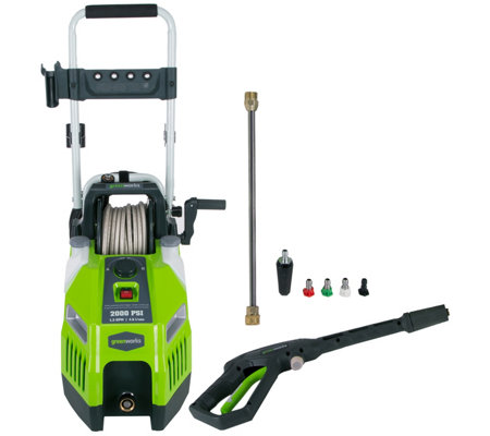 Greenworks 2000 PSI Pressure Washer