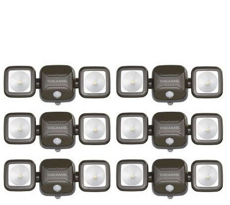 Mr Beams Wireless High Performance Flood Lights, 6 Pack