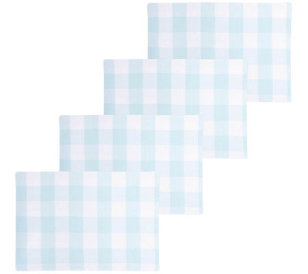 Set of 4 Franklin Cloth Placemats by Valerie