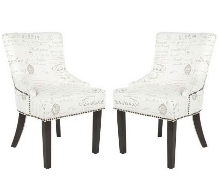 Lotus KD Side Chairs - Gray
