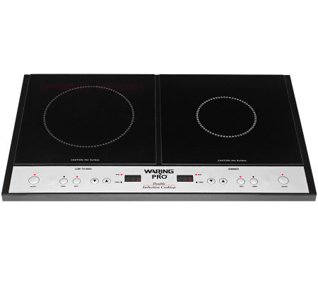 Waring Pro Double Induction Cooktop