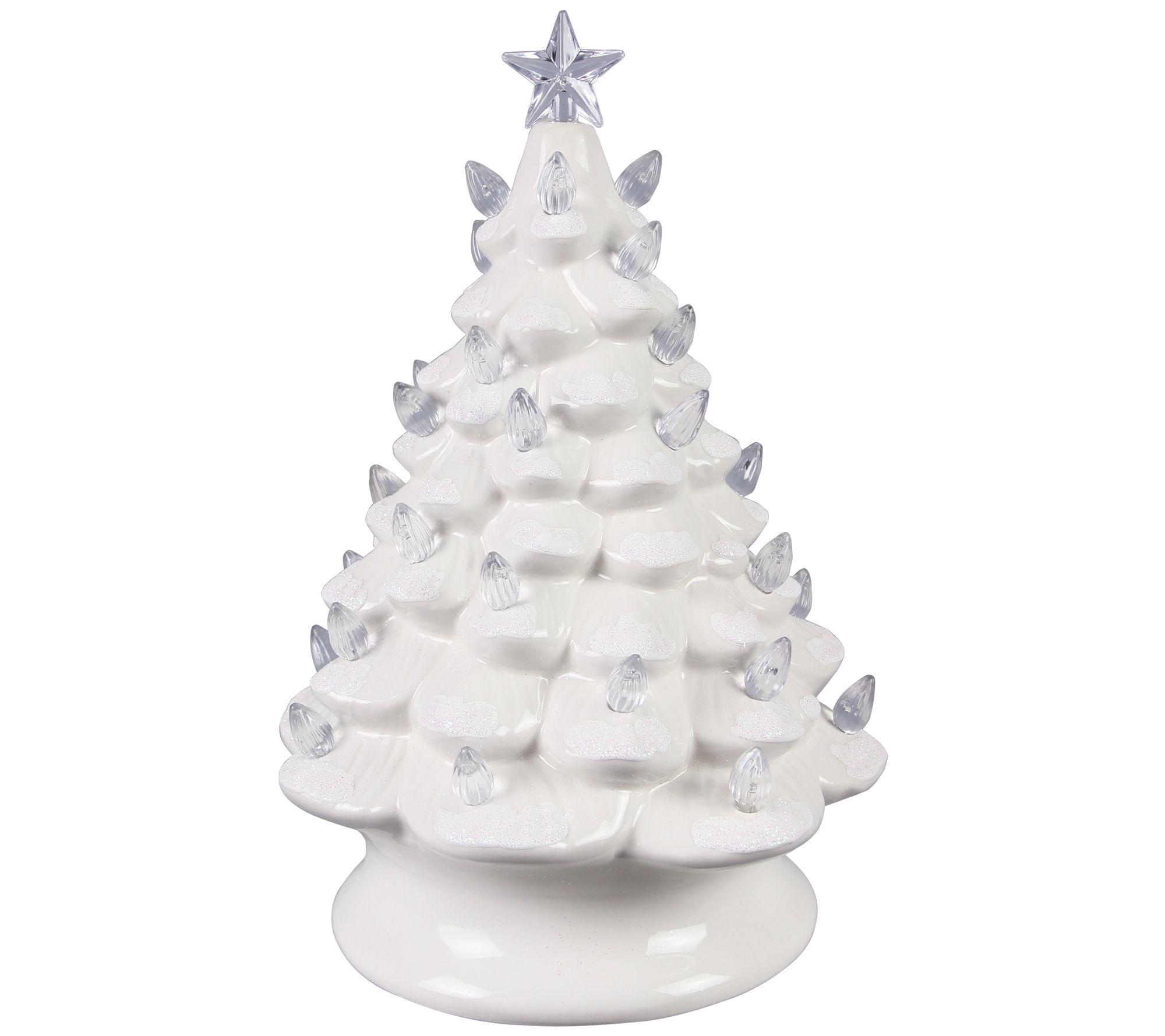 DII Santa and Christmas Tree Snowman Ceramic Christmas Ornaments For Tree...
