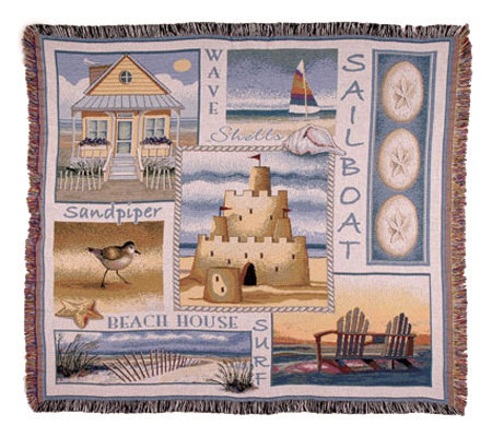 Sea and Shore Throw by Simply Home