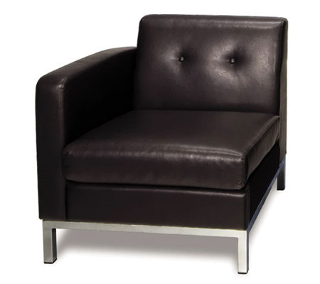 Avenue Six Wall Street Single Arm Chair Left Arm Facing