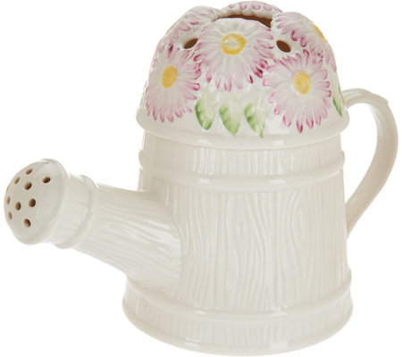 Belleek Watering Can Flower Holder