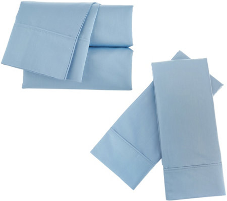 Home Reflections 2000TC Cooling 6 pc Easy Care CK Sheet Set
