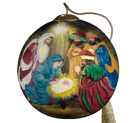 Three Kings Ornament by Ne'Qwa