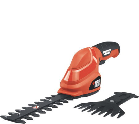 Black & Decker 3.6V Lithium 2-in-1 Garden ShearCombo