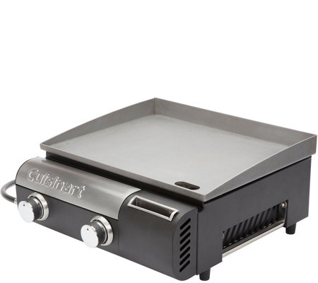 Cuisinart Gourmet Two-Burner Outdoor Gas Griddle