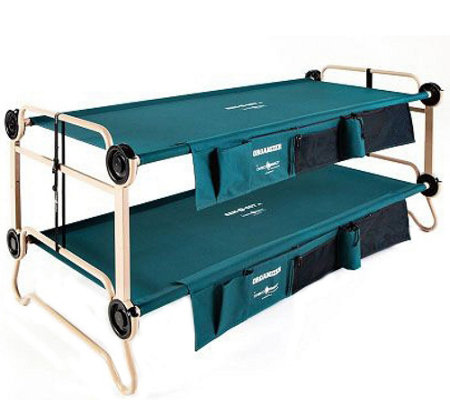 Disc-O-Bed XL Cam-O-Bunk with Side Organizers and Cabinets