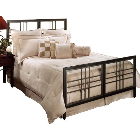 Hillsdale Furniture Tiburon King Bed - Magnesium Pewter Finish
