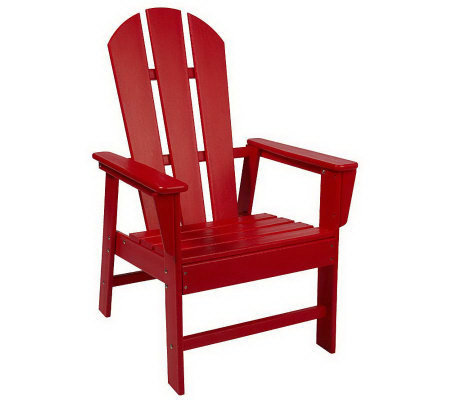 Tremendous Polywood Original Adirondack Chair Qvc Com Gmtry Best Dining Table And Chair Ideas Images Gmtryco