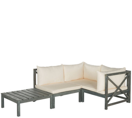 Safavieh Lynwood 4-Piece Outdoor Sectional