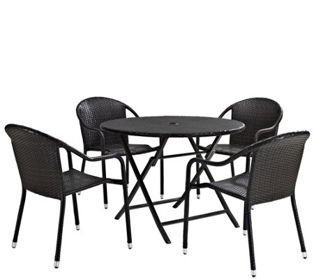 Palm Harbor 5-Piece Cafe Dining Set