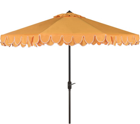 Safavieh Elegant Valance 9' Umbrella