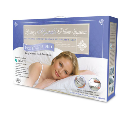 Protect A Bed Luxury Pillow System Standard