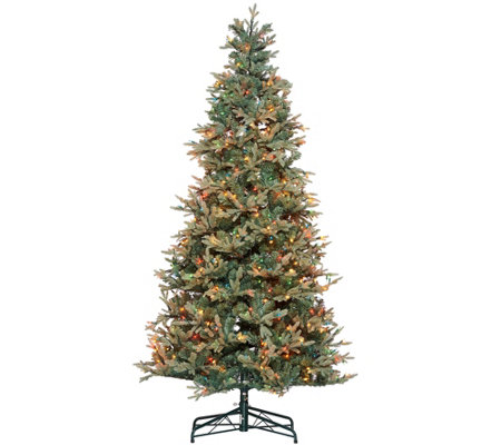 """As Is"" Bethlehem Lights 6.5' Blue Spruce Christmas Tree"