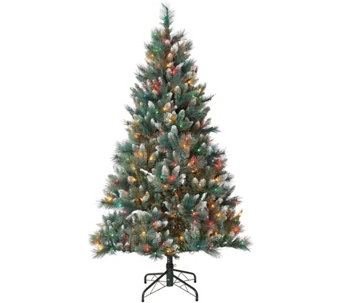 bethlehem lights 65 long needle blue pine tree with ipt h216421