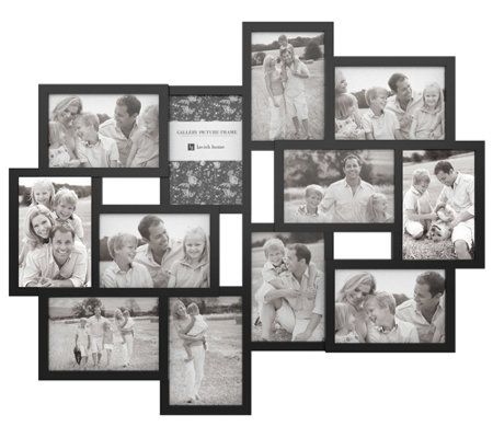 Lavish Home 12-Photo Collage Picture Frame