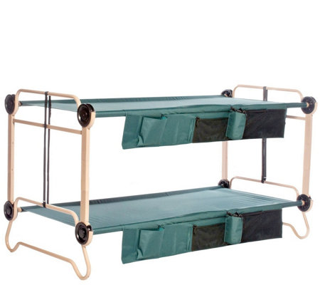 Disc-O-Bed XL Cam-O-Bunk with Side Organizers &Leg Extensions