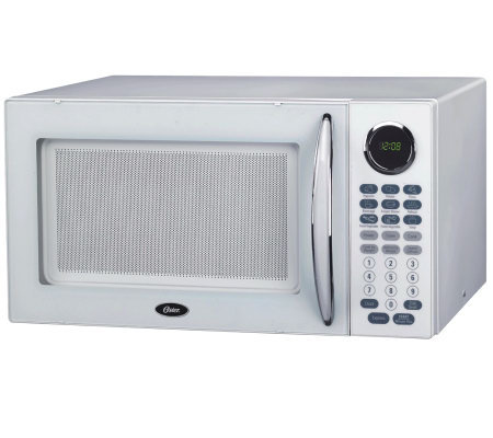 Oster OGB81101 1.1 Cubic Foot Digital MicrowaveOven - White