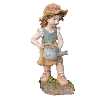 Design Toscano Farmer Fanny Hand Painted Classic Garden Statu