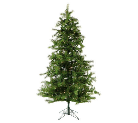Fraser Hill Farm Prelit 7.5' Noble Fir Christmas Tree