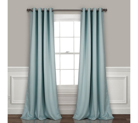 "Grommet Blackout 52"" x 84"" Window Curtains by Lush Decor"