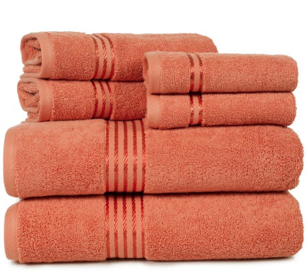 Lavish Home 100% Cotton Hotel 6-Piece Towel Set