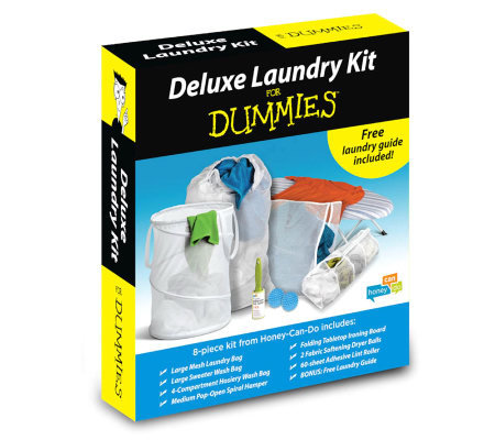 Honey-Can-Do Laundry-for-Dummies Deluxe LaundryKit
