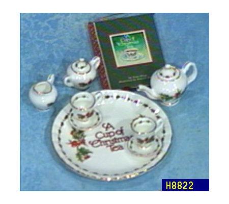 a cup of christmas tea mini tea