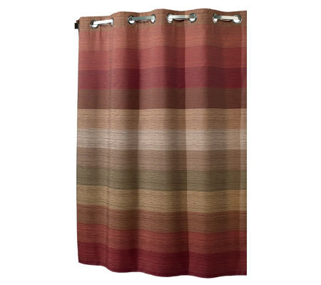 Hookless Stratum Fabric Shower Curtain W Snap In Liner