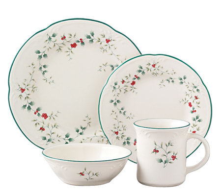 Pfaltzgraff Winterberry 16pc Dinnerware Set