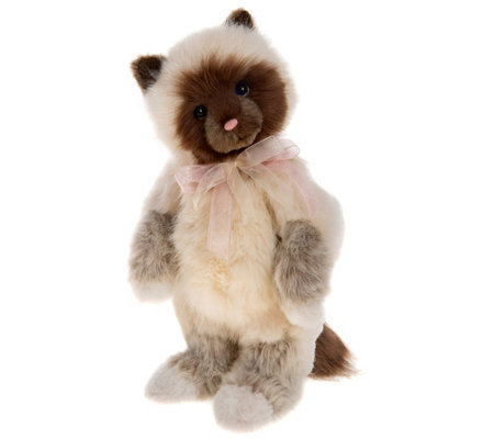 "Charlie Bears Collectible Clawdia 11.5"" Secret Collection Bear"