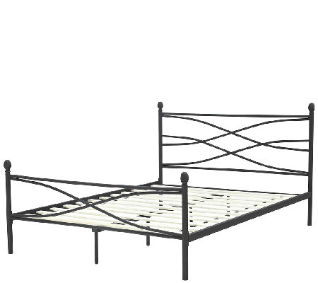 Pedic Solutions Erin Metal Twin Bed Frame