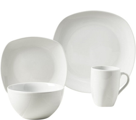 Tabletops Gallery 16-Piece Dinnerware Set - Logan