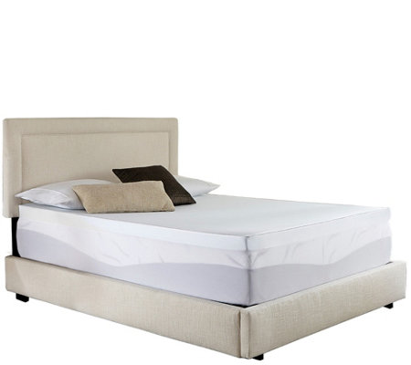 "ComforPedic from Beautyrest 2"" NRGel Topper & Cover - Cal Kin"