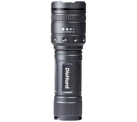 DieHard 1,000-Lumen Twist Focus Flashlight