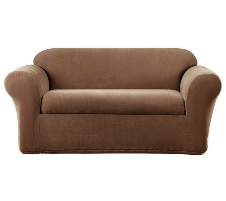 Sure Fit Metro 2-Piece Love Seat Slipcover